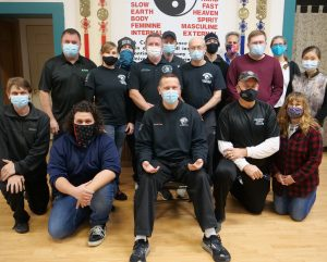 The Advanced Healing Workshop, 2020! We swear we are all smiling under the masks...